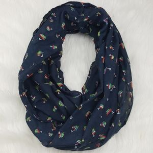 Maurices Sail Boat Infinity Scarf